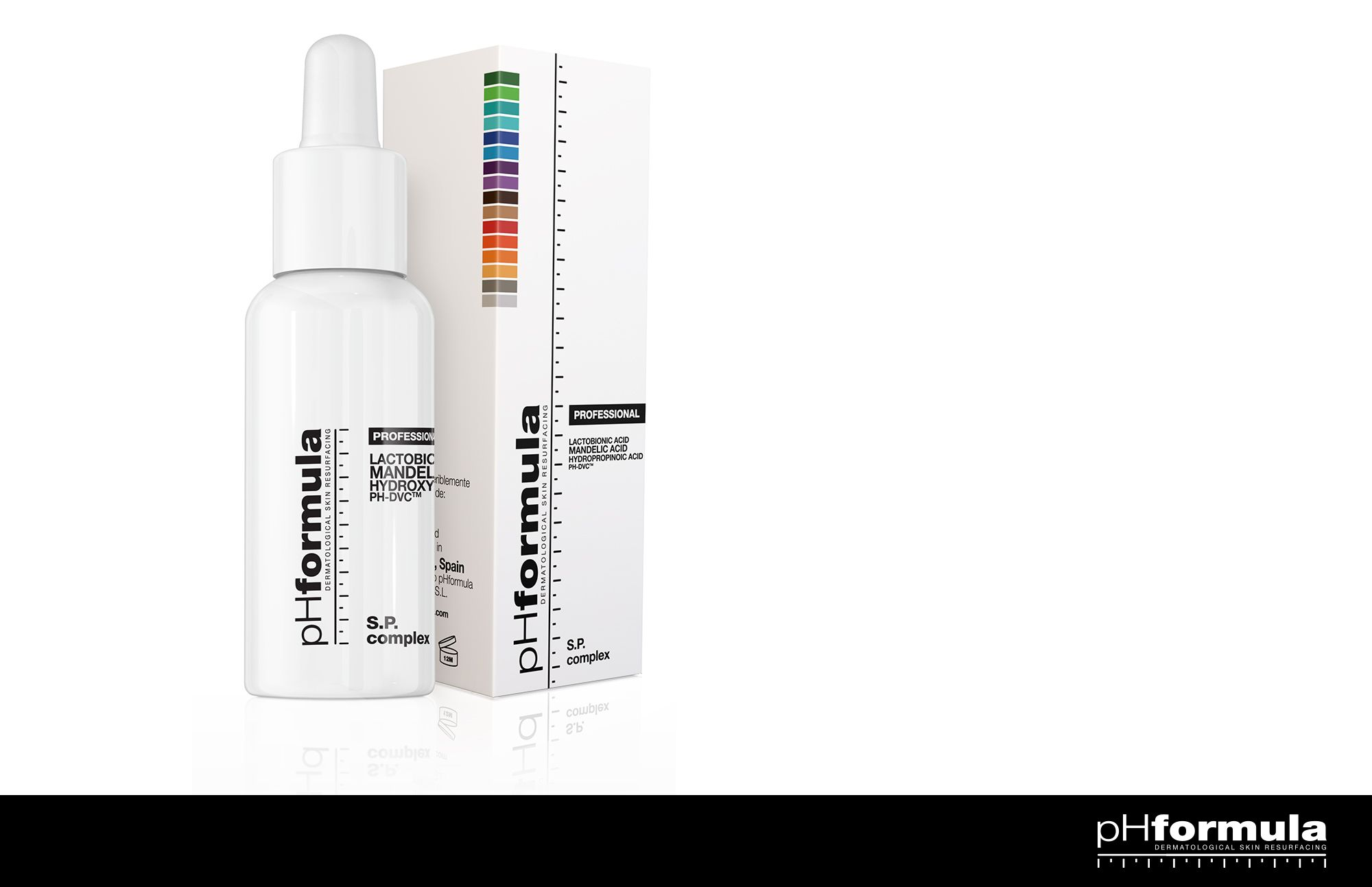 The S.P. complex is used to determine each patients sensitivity level and will guide the skin specialist in choosing the correct treatment protocols. #innovations #PhysicianWellness #treatment #pHformula