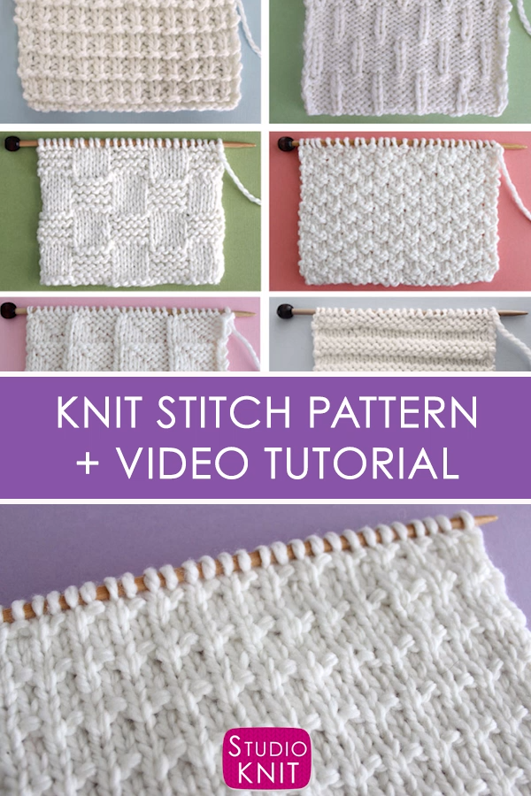 Photo of Andalusian Knit Stitch Pattern with Video Tutorial