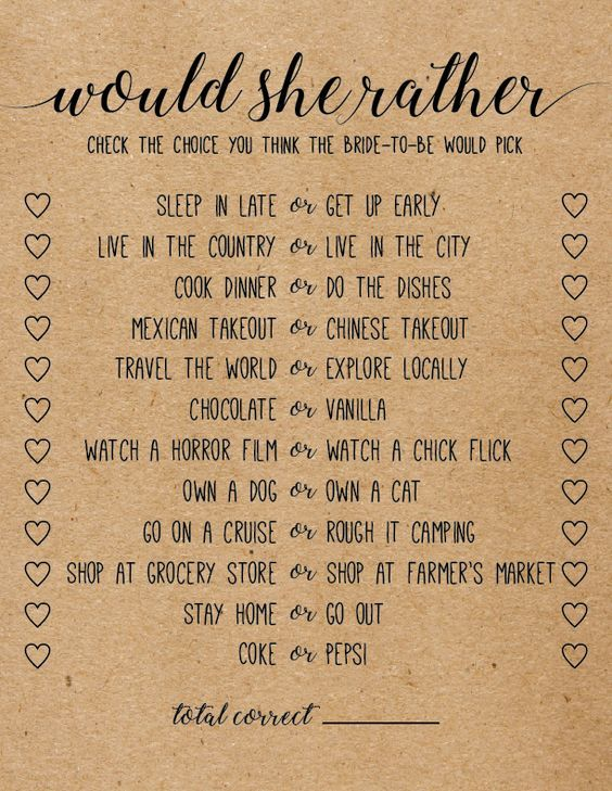 Resource image intended for would she rather bridal shower game free printable
