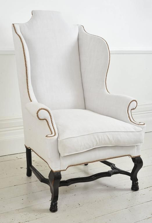 Early 18th Century English Wing Chair 2 Vintage Wingback Chair