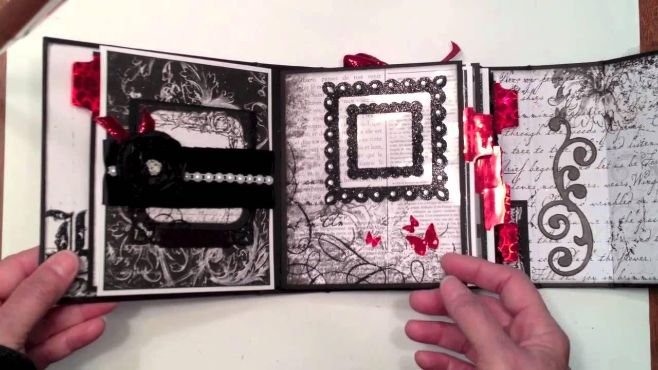 Bo bunny enchanted wedding mini album paper crafting mini albums