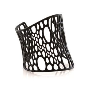 Subdivision Cuff Black, 48€, now featured on Fab.