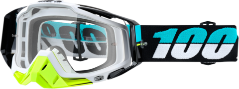 White MT Motocross Goggles MX Pro III Anti-Fog /& Anti-Scratch