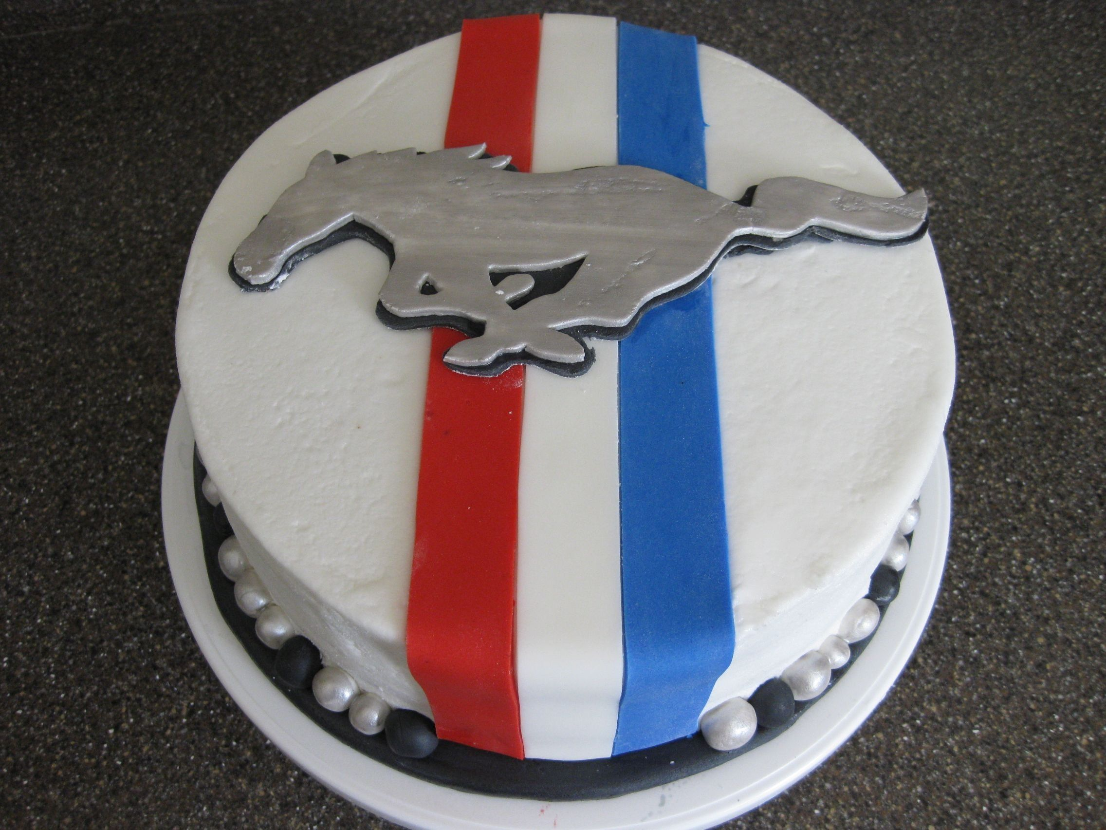Mustang Birthday On Cake Central Mustang Cake Birthday