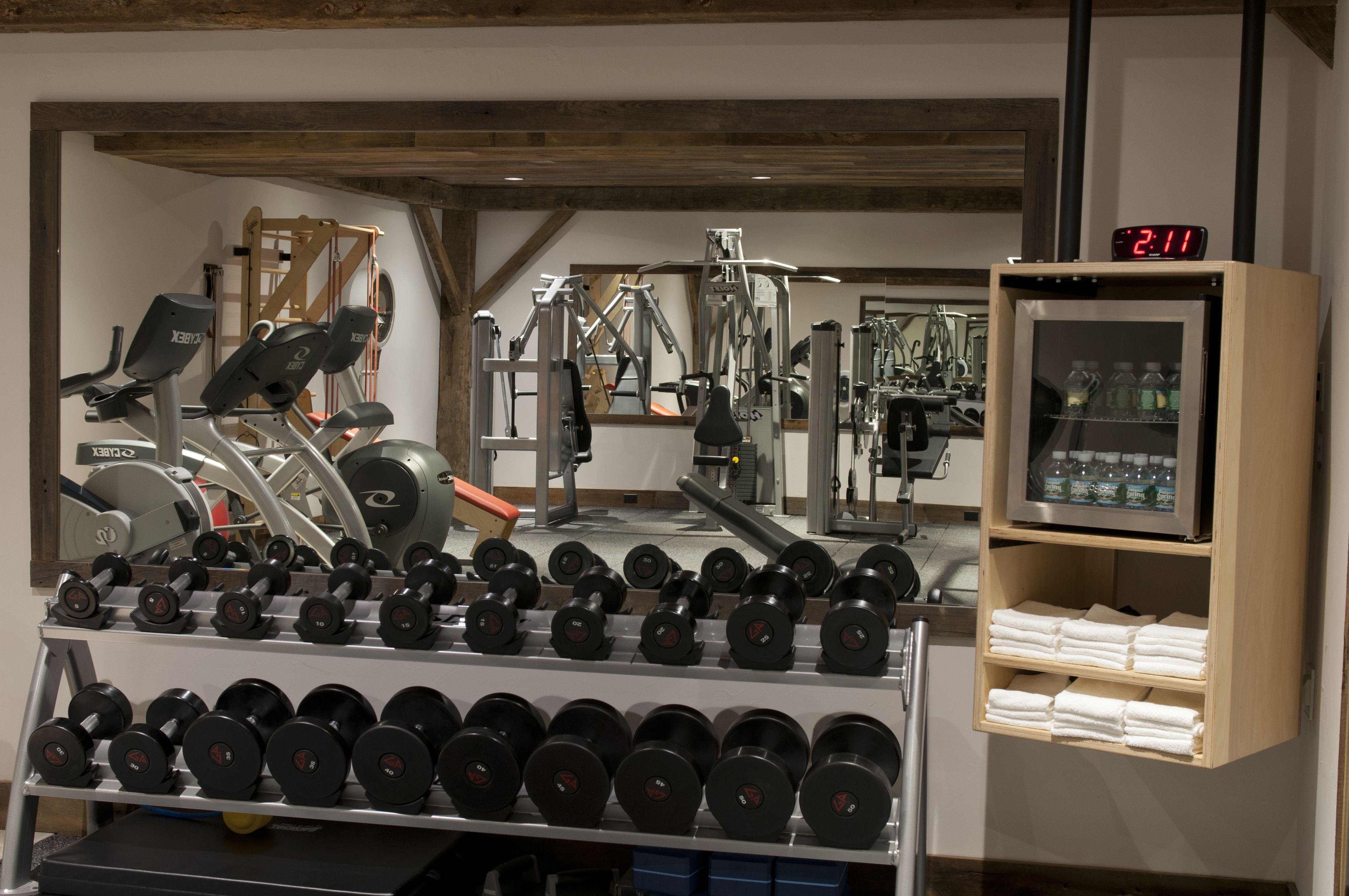 Home gym by christof prus gym
