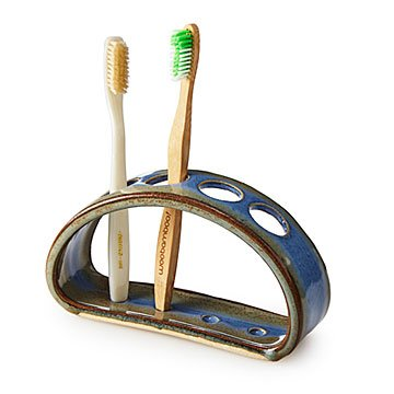 Ceramic Arch Toothbrush Holder #ceramicpottery
