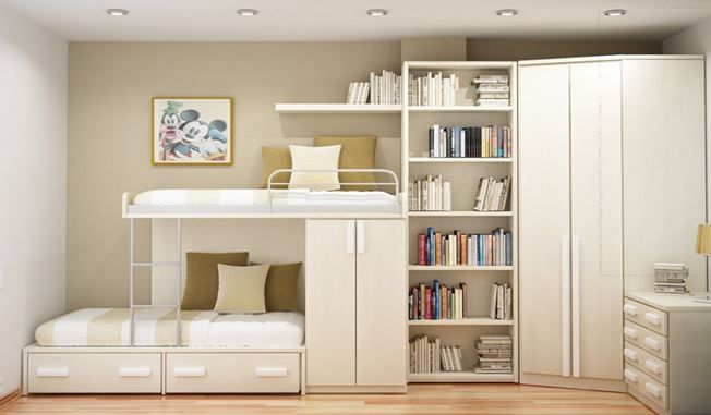 Design Ideas For A Kid's Room In A Tiny Apartment  Cubbyholes 'n Entrancing Design Ideas For Small Spaces Living Rooms Decorating Design