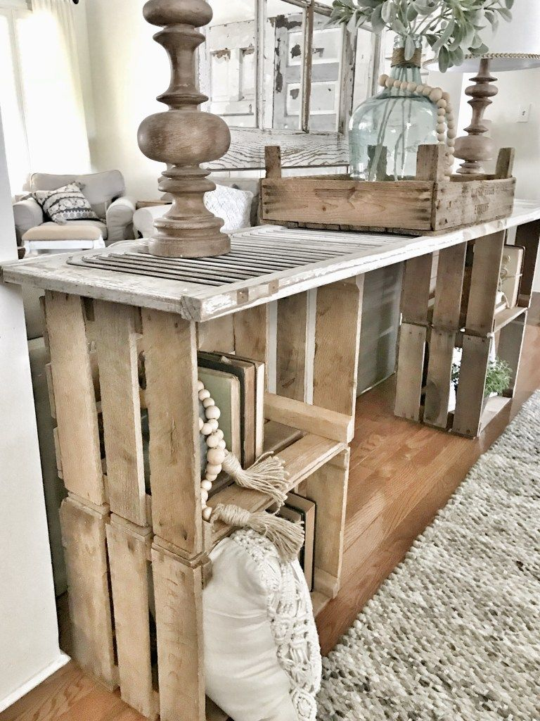 Easy diy console table displays pinterest diy home decor and