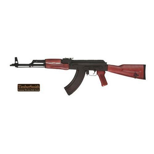 Timber Smith AK47 Red Laminated Romanian Stock Set