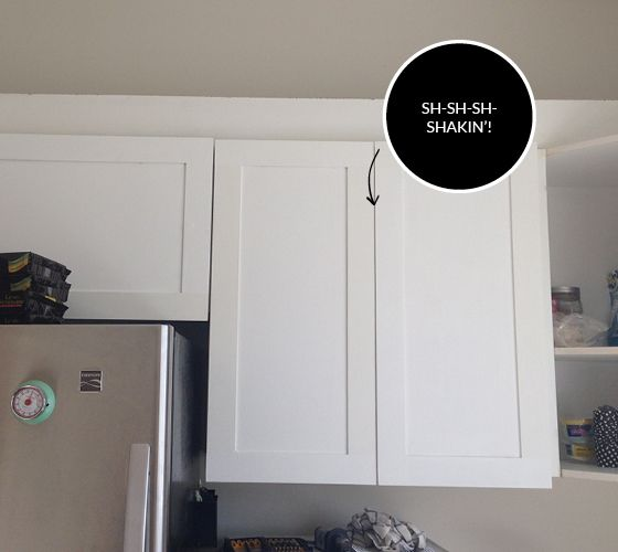 Ideas For Redoing Kitchen Cupboards: This One Is Probably More Work Than I Want To Put Into A