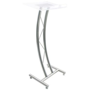 Curved Acrylic Truss 43h Lectern 43427 And More Lifetime Guarantee Church Interior Design Podium Design Business Furniture
