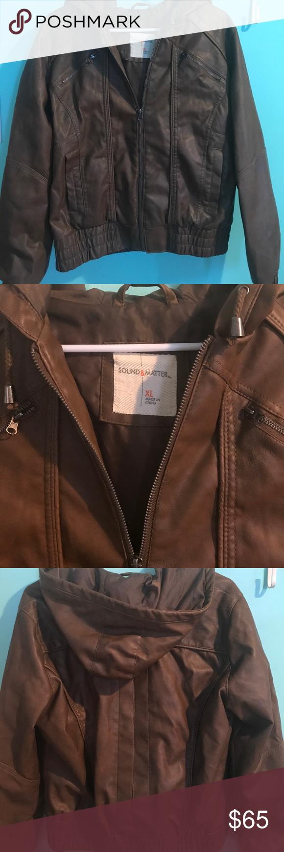 Brown Leather Jacket Leather jacket, Brown leather