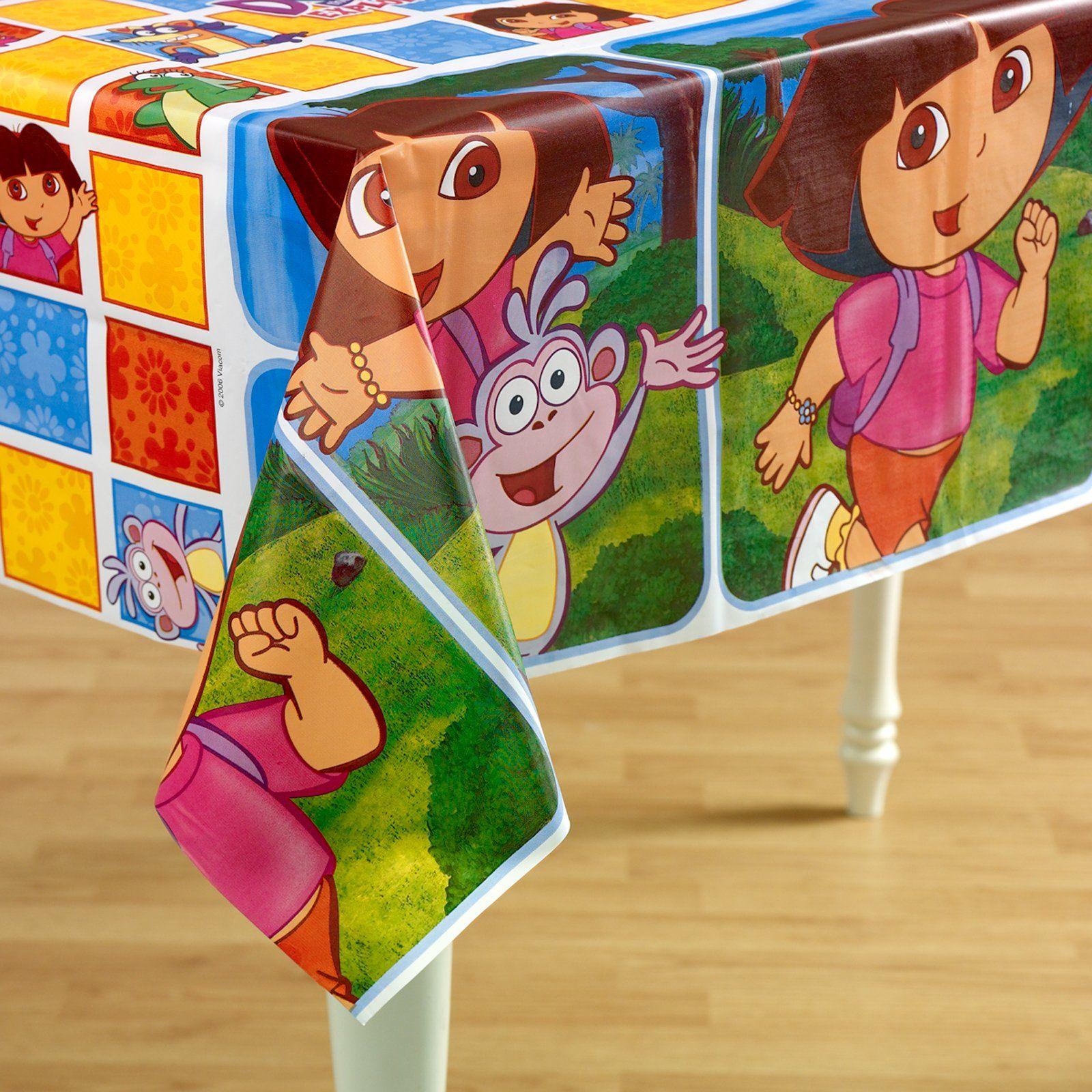 Dora Tablecloth Birthday Supplies Dora And Friends