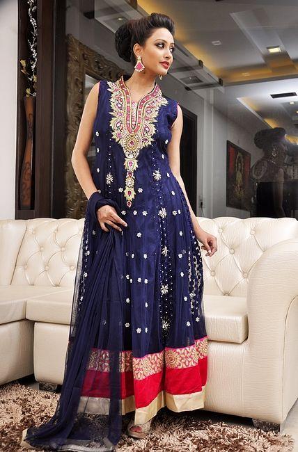 Blue Indian Dresses