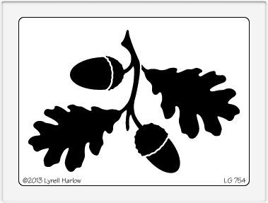 lg 754 lg oak leaves stencils pinterest oak leaves stencils