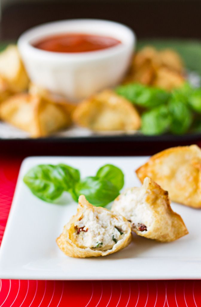 Italian Style Wontons Culinary Hill Healthy Appetizer Recipes