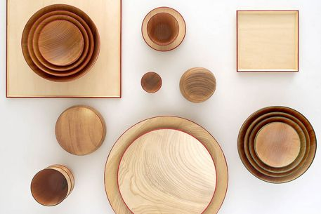 Wooden Tableware I & Wooden Tableware I | tableware | Pinterest | Tablewares Muji and ...