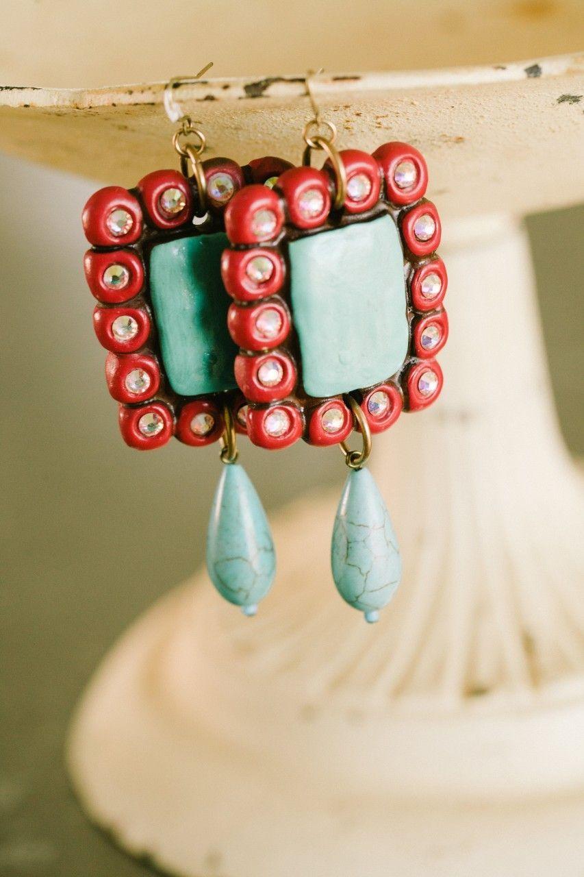 Southern Jewlz Online Store - Dancing Gypsy with Drop Sookie Earrings, $29.95 (http://www.southernjewlz.com/dancing-gypsy-with-drop-sookie-earrings/)