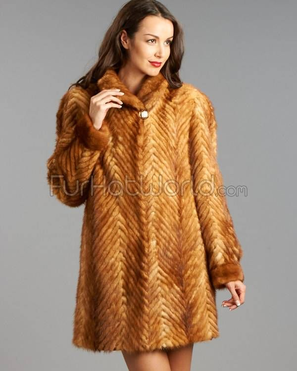 Sculptured Mink 3/4 Length Coat http://www.furhatworld.com/sculptured-mink-34-length-coat-34-length-p-3006.html
