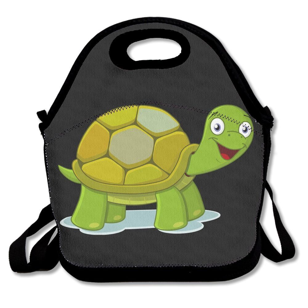 c32ef3b48c USYCHATS Lunch Bag Insulated Large Capacity Adjustable Shoulder Strap For  School Work Office Funny Turtle ** Click image for more details.