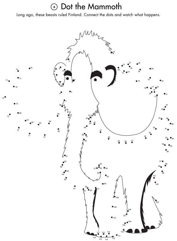 Mammoth Activity Page Printout Prehistoria Primaria Prehistoria