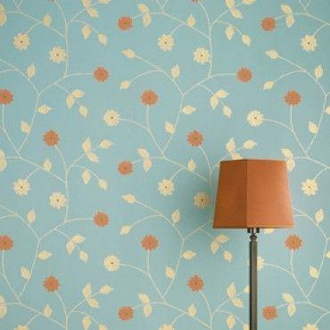 Art nouveaux wallpaper