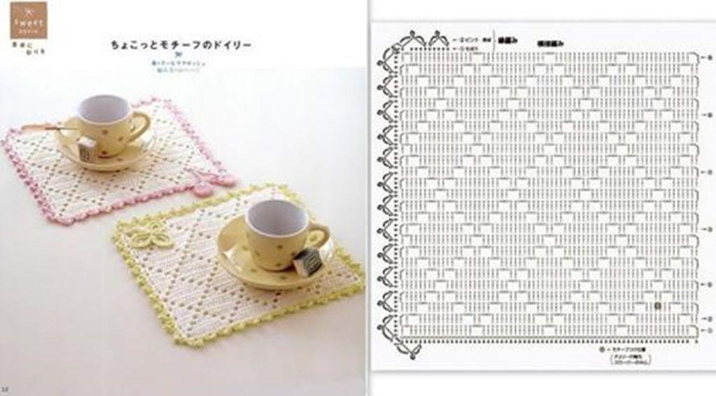 TRILHO DE MESA SIMPLES | crochet | Pinterest | Ganchillo de la ...