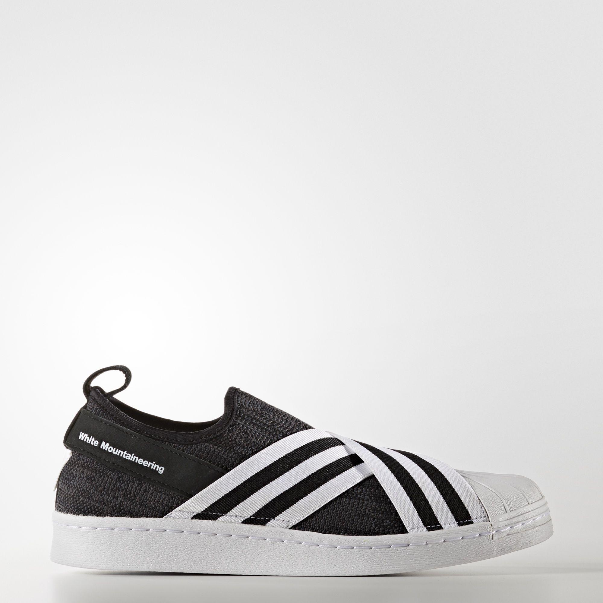 Primeknit Schuh Superstar White Slip Adidas On Mountaineering A435RLj