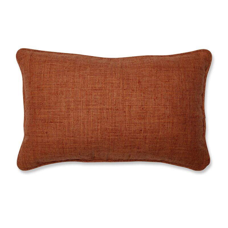 Shanks Lumbar Pillow In 2021 Orange Throw Pillows Orange Pillows Rust Throw Pillows