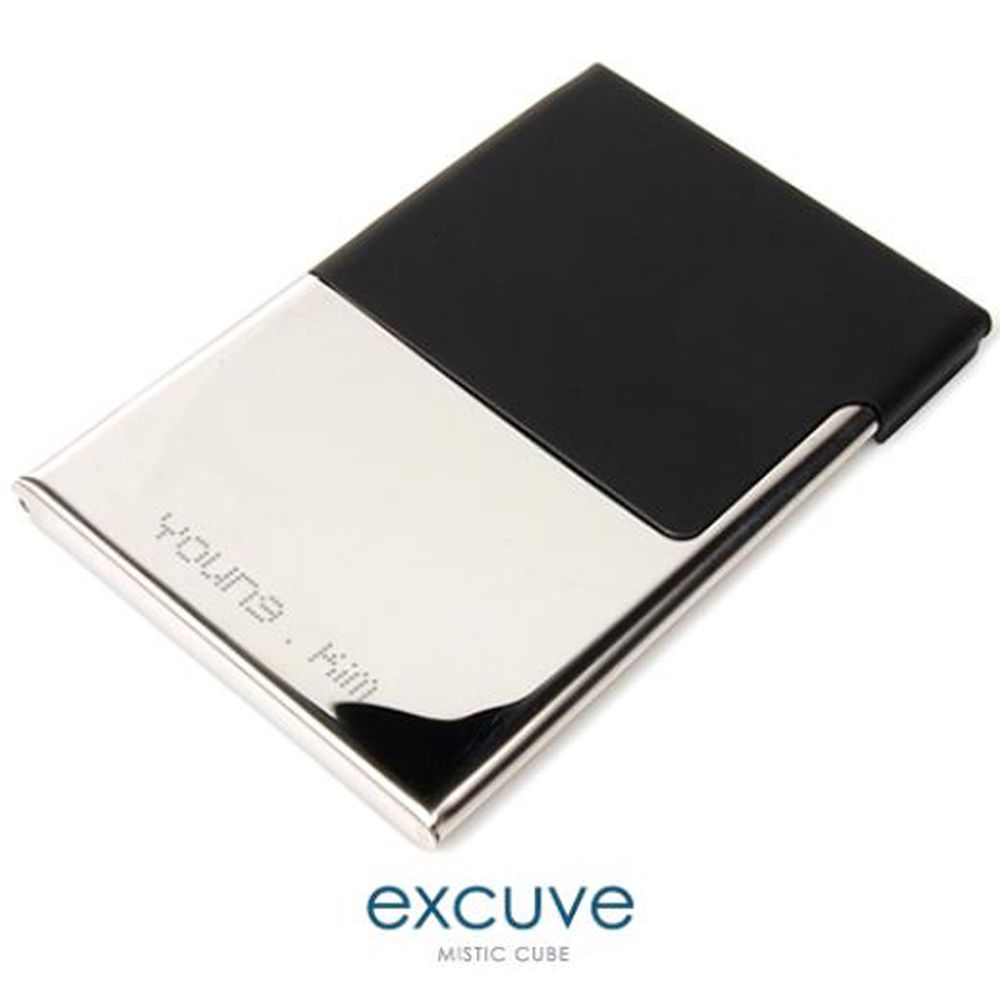 Personalized Semi Open Type Business Card Holder Excuve Tgx1 Free