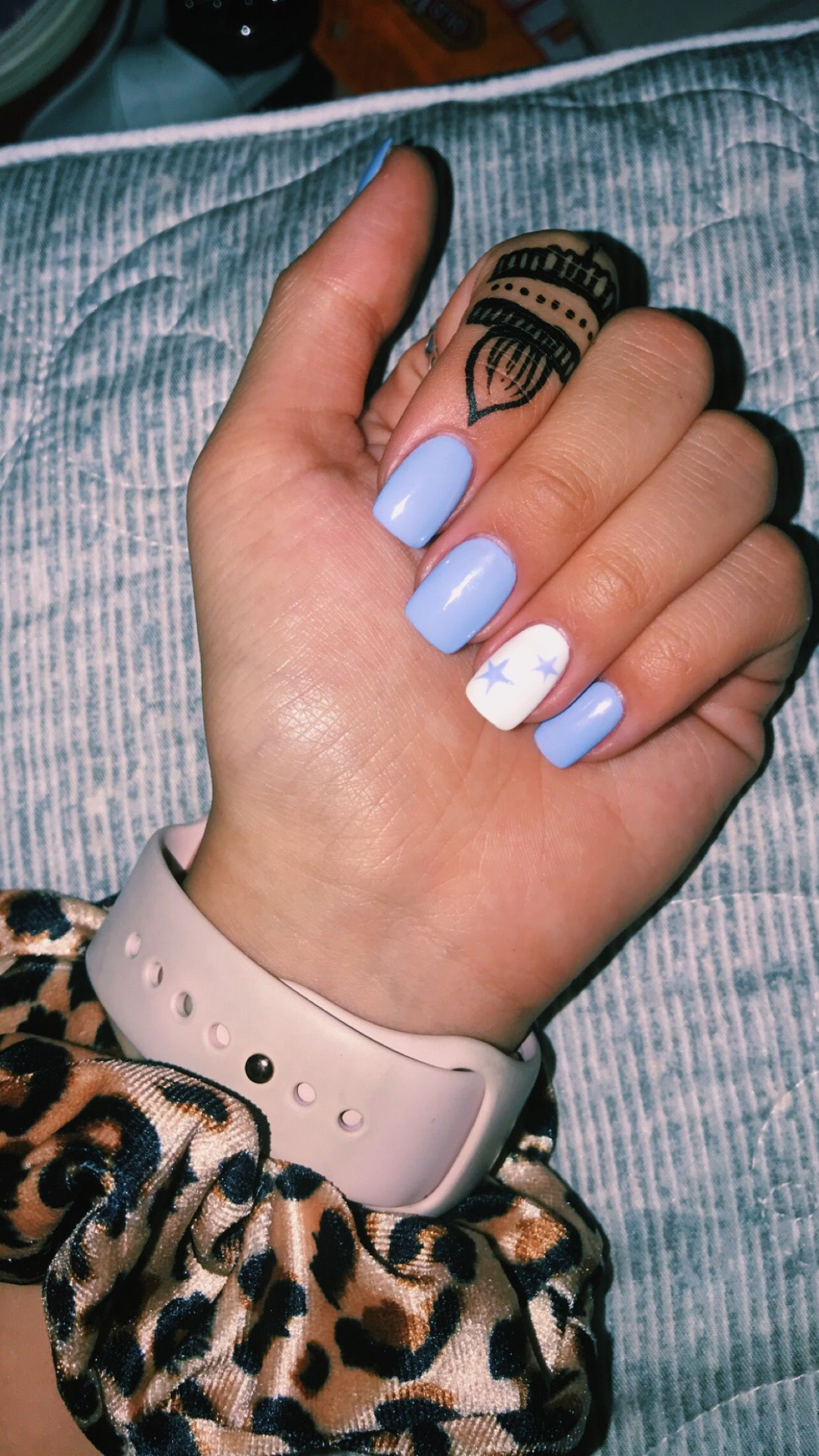Vsco Star Acrylic Nails Vsconails Cute Acrylic Nails Pretty Acrylic Nails Short Acrylic Nails