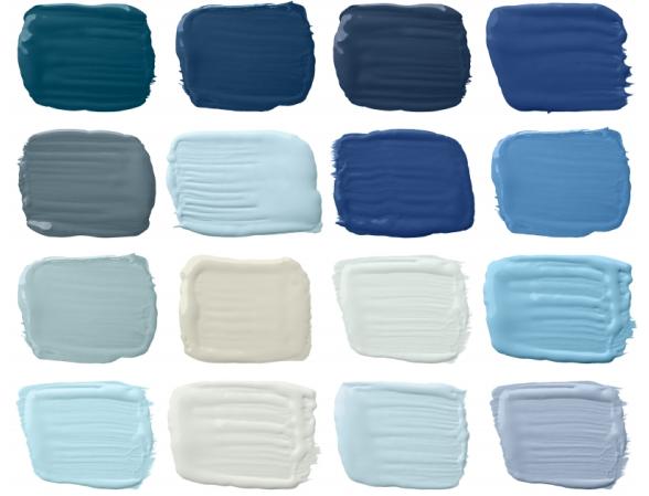 Ralph Lauren Lifestyle Palettes Harbor Blues Color Paint