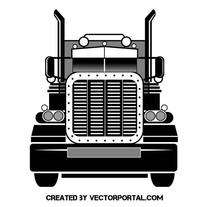 Big Rig Vector Graphics With Images Heavy Truck Trucks Big Rig