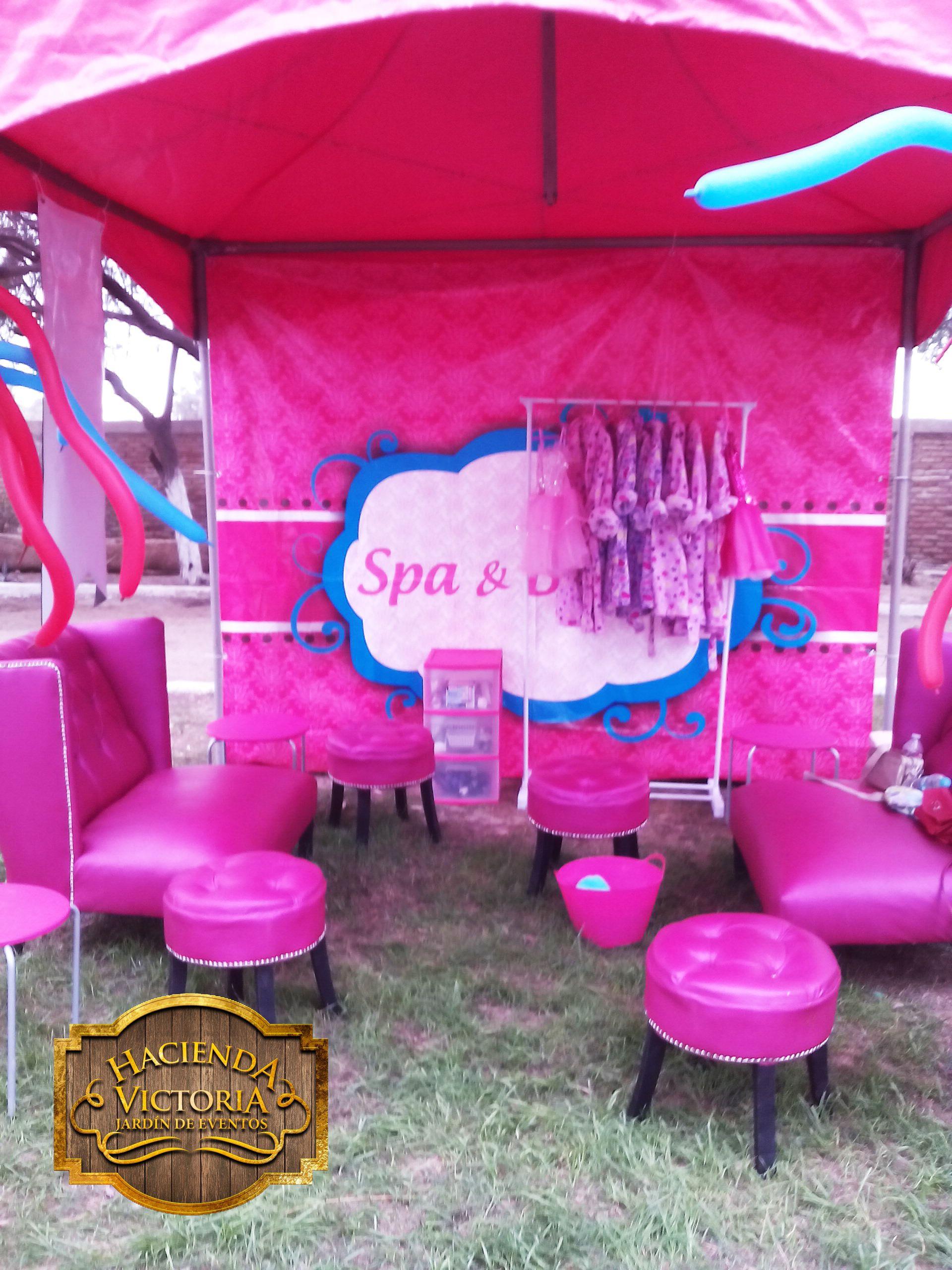 Spa y salon de belleza para niñas Hacienda Victoria Mexicali