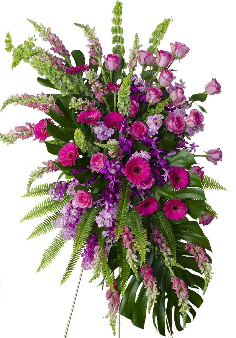 Grace mix pink flower spray flower spray pink flowers