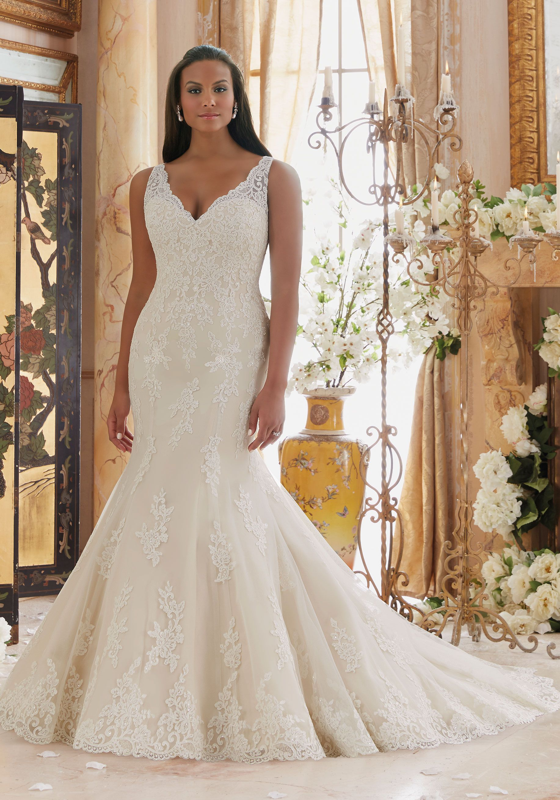 Stunning plus size wedding dresses wedding dress pinterest
