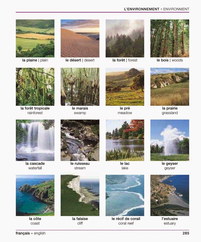 Les Paysages Vocabulaire Pinterest Le Paysage