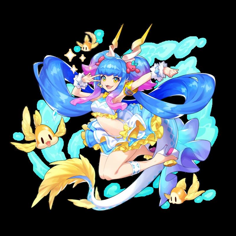 Siren Dragalia Lost Wiki Character design, Anime