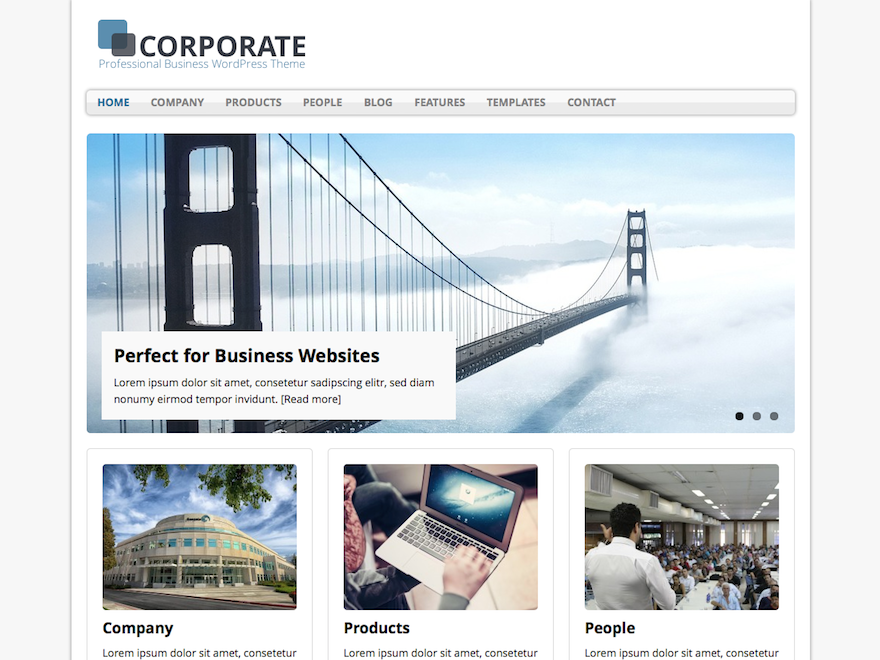 https://de.wordpress.org/themes/mh-corporate-basic/ | Word press ...