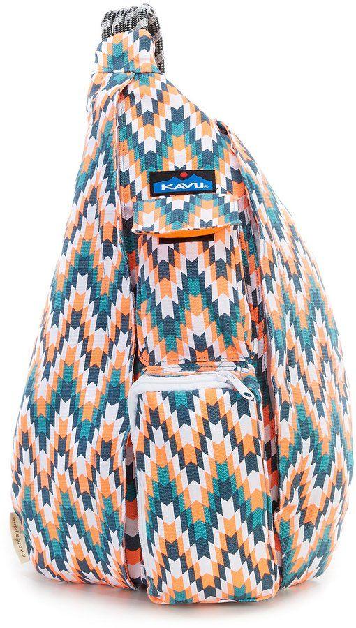 c2ec276f4b Kavu Printed Rope Messenger Bag in 2019