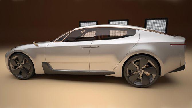 New Kia Concept Revealed Kia Sports Sedan Concept Cars