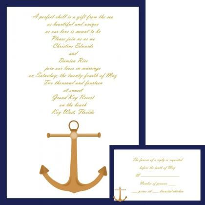 Nautical Wedding Invitation Wording Gallery Invitation Templates
