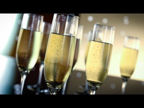 Create Realistic 3D Champagne glasses with Iray | CG Tutorials library