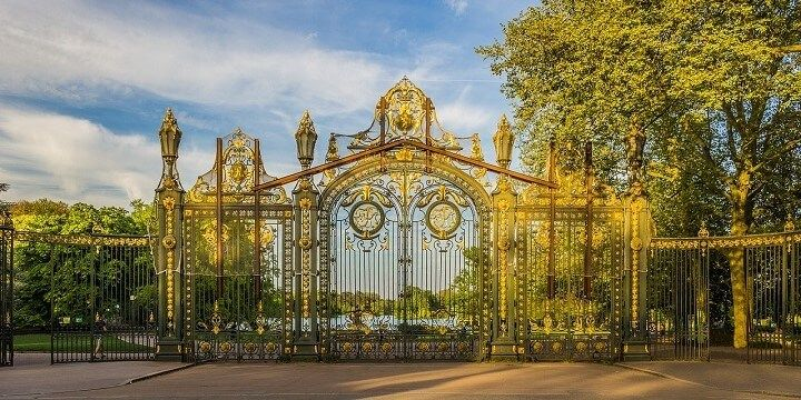 Parc de la Tete d'Or, Lyon, France