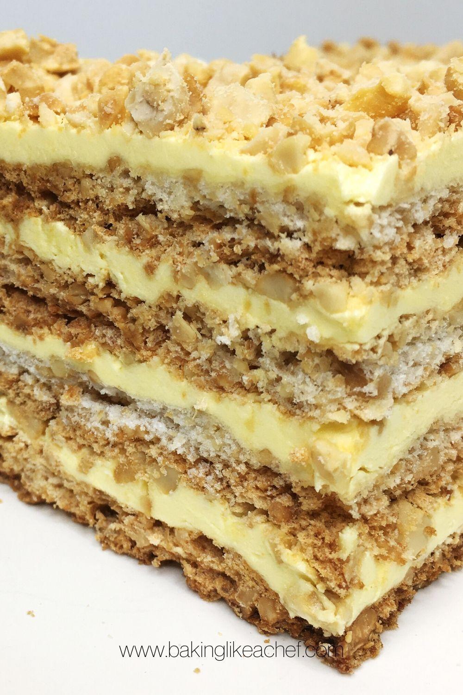 Layer cashew cake sans rival recipe in 2020 cake