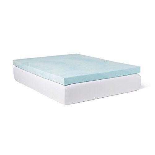 Slumber Solutions Choose Your Comfort 4inch Gel Memory Foam