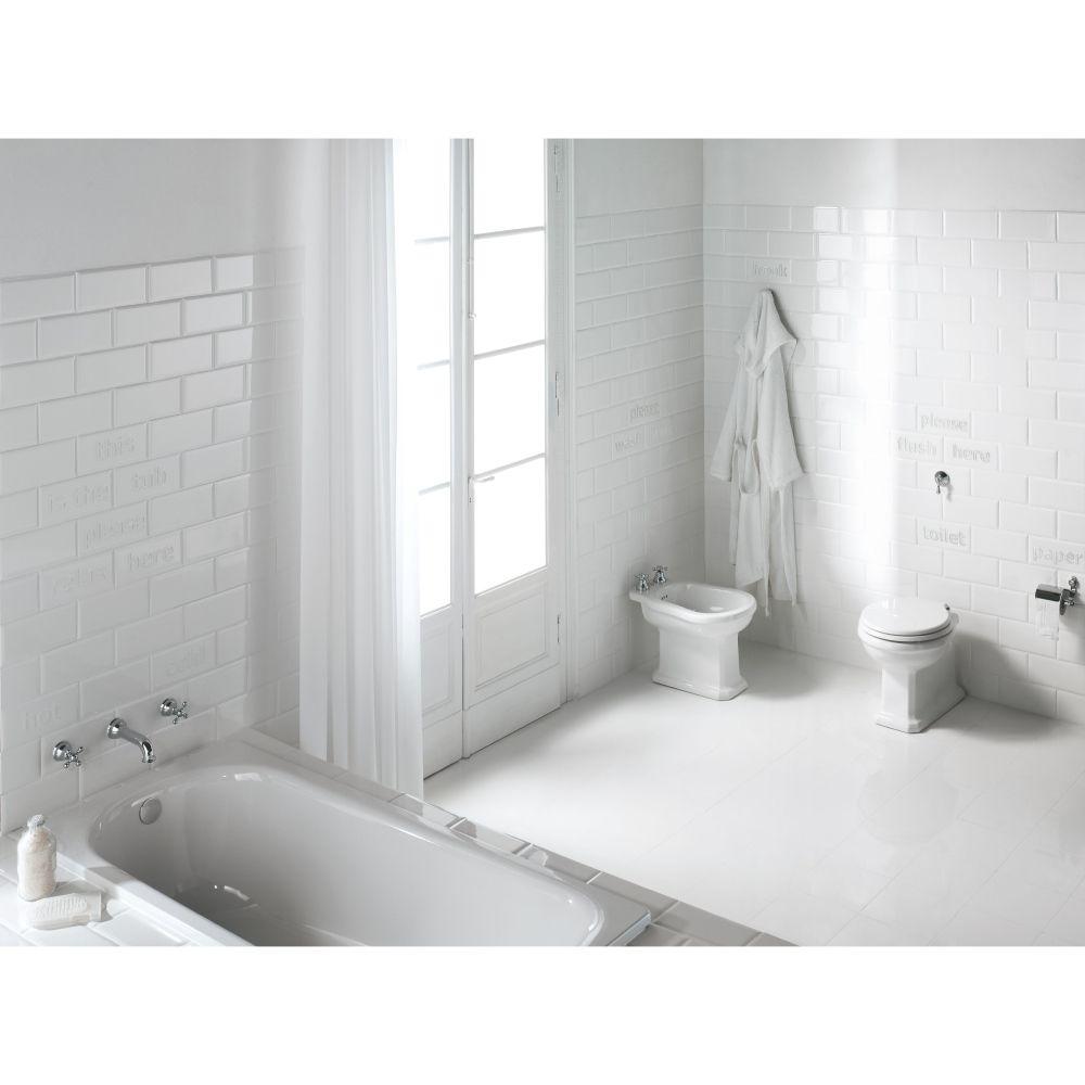 Salle De Bain Carrelage Metro Vert ~ carrelage mural style m tro salle de bain et cuisine 12 5×25 white