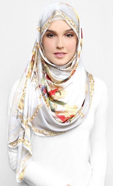 dUCk x Bowerhaus Scarf in Grey on   Duck scarves. Fashion. Hijab fashion
