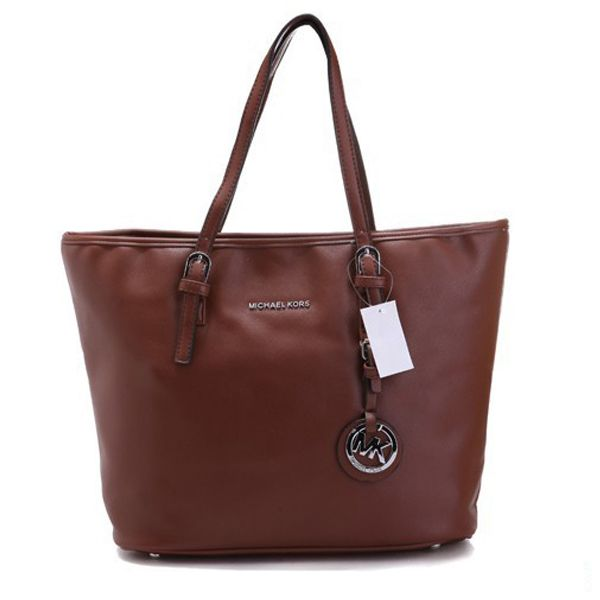 39a304df874c Michael Kors Jet Set Macbook Travel Large Coffee Totes Outlet