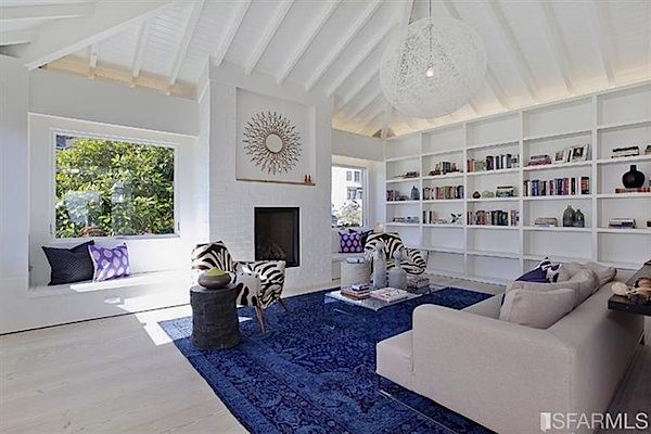 Open House Obsession San Francisco Shingled Cottage With A Heart Of Modern Glamour Home Living Room House Design Home